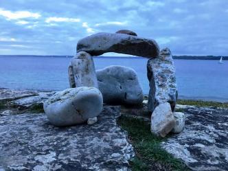 Stone cairns in Camaret