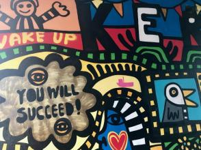 Classy Falmouth grafitti