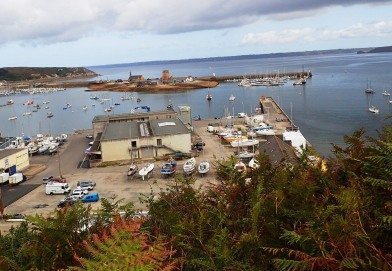 Our yacht berth in Camaret