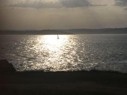 Sailing out of A Coruna