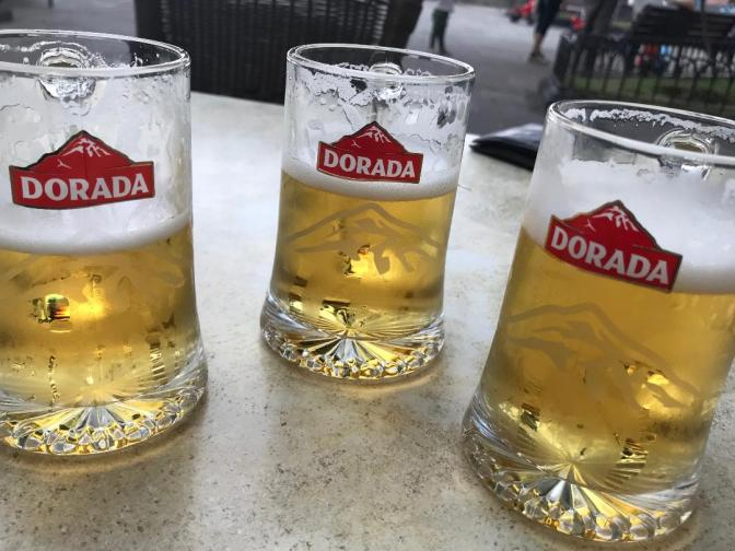 Doradas all round for the three Bagheteers