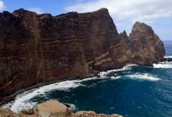 Madeira coastline where monk seals had been spotted