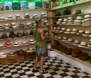 Buying a Panama hat